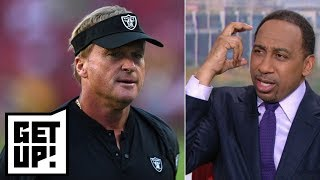 Stephen A.: Gruden sounds 'delusional' because no one wants to play for the Raiders | Get Up!