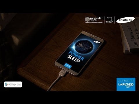 Samsung Power Sleep supports research at the University of Vienna [TV Commercial]