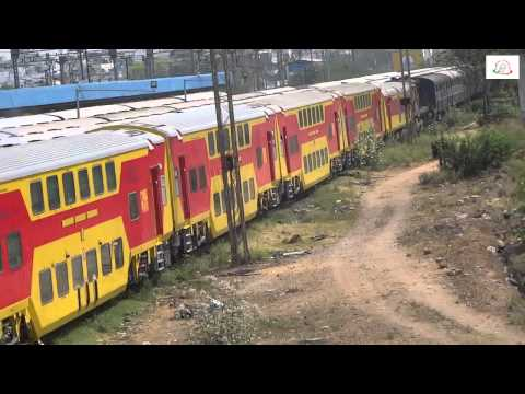 AC Double Decker train in India