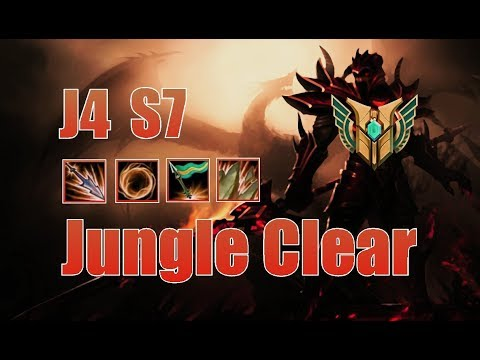 How to clear your jungle as JARVAN IV - League Of Legends Guide