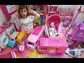 Elifin Oyuncak k esini topluyoruz daha do rusu al yoruz Barbie karavanlar ada maceras