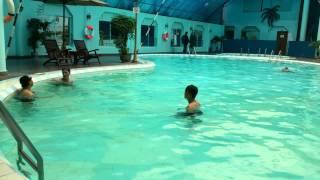 Dạy Bơi Ếch - Bài tập phối hợp chân tay
