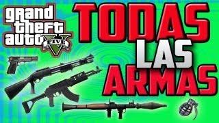 TRUCO GTA V| Desbloquear Todas Las Armas + Munición