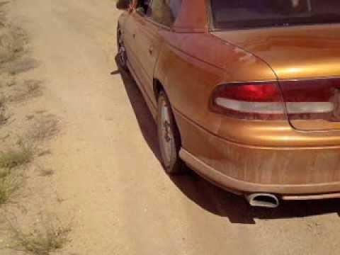 VT Commodore Burnout Drift on dirt