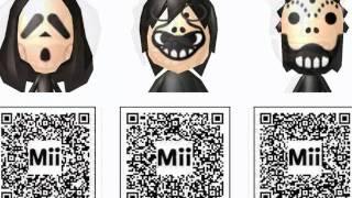 3DS Mii QR Codes Pokemon