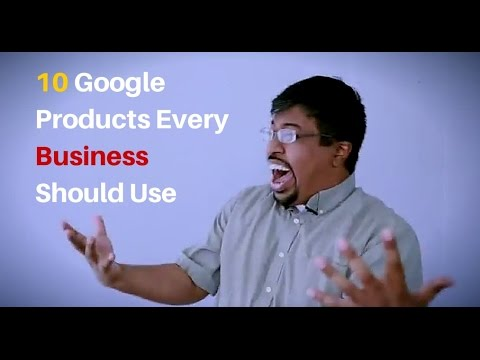 The Optimization Guy - Episode 3 - 10 Google Products Every Business Should Use