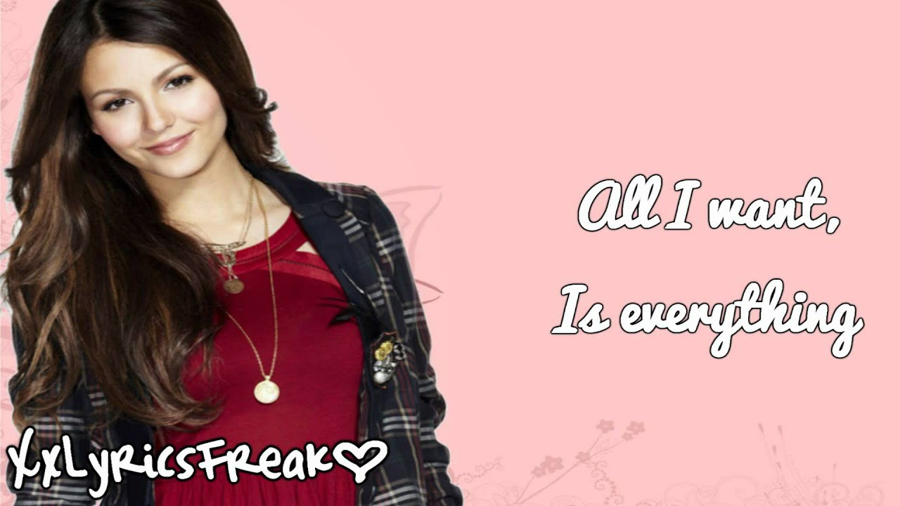 All I Want Is Everything | Victorious Wiki | FANDOM ...
