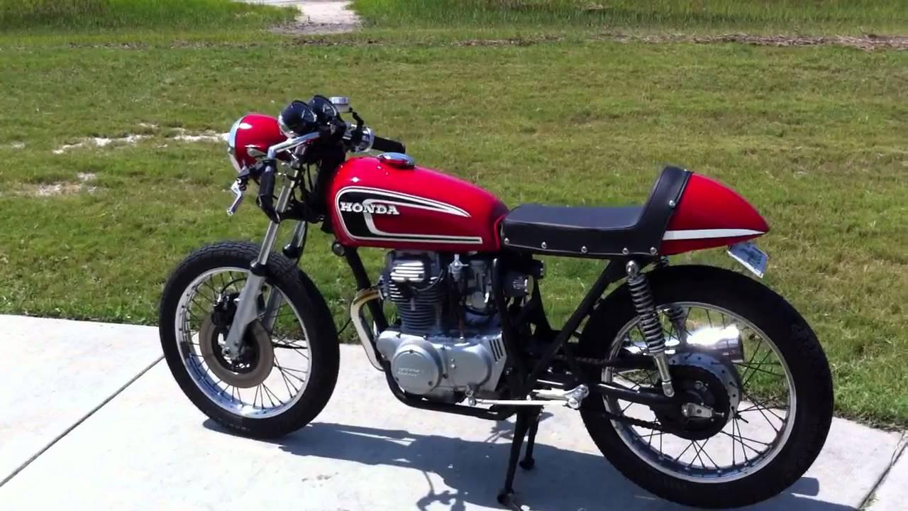 1974 Honda Cb360 Quot 6er Quot Cafe Racer Youtube