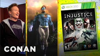 Conan Reviews Injustice: Gods Among Us