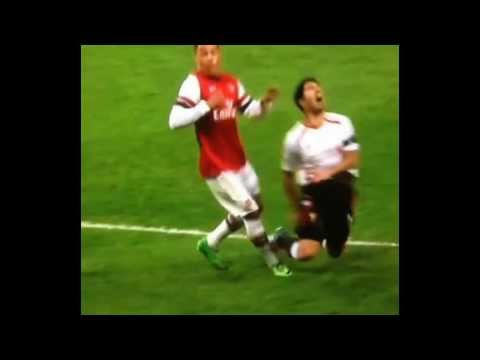 Suarez Penalty Or Dive? | Arsenal - Liverpool 2-1 | 16/2/14 HD