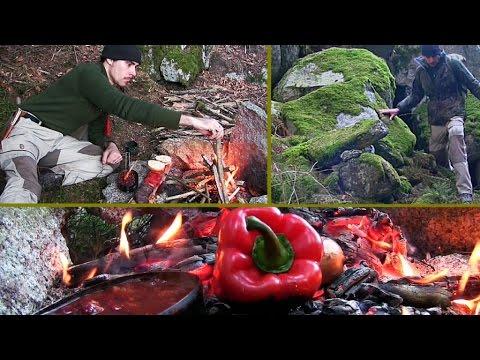 Bushcraft, Natur und Kochen XL Video