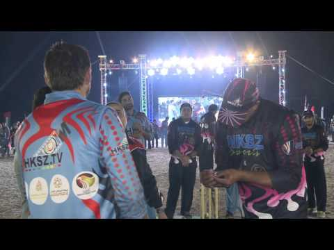 Harbhajan Singh, Irfan Pathan Celebration UAE National Sports Day with HKSZ TV