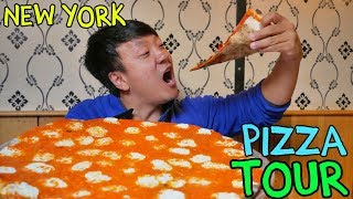 BEST Pizzas in New York! New York Pizza Tour of Manhattan