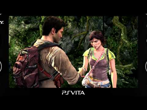 PS Vita - Uncharted Golden Abyss (gamescom 2011)