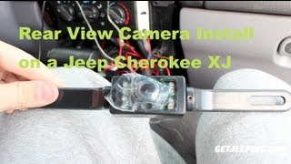 How To: Install A Rear View Camera On A 1997 2001 Jeep