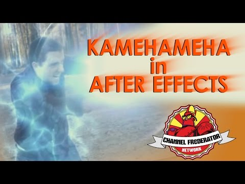 After Effects Tutorial - KAMEHAMEHA!