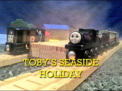 The Wooden Railway Series: Toby's Seaside Holiday