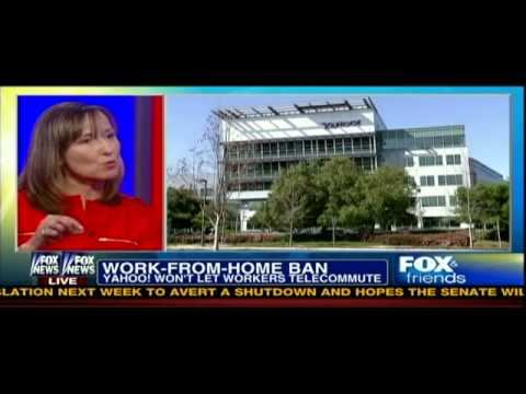 Cali Williams Yost, Flexible Work Expert and Author, on Fox & Friends Discussing Telework at Yahoo