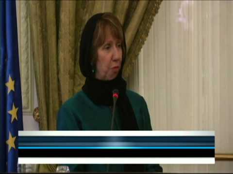 Catherine Ashton visits Iran ahead of next round of talks