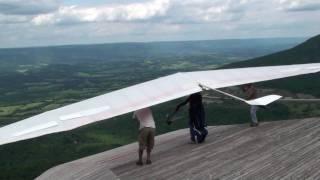 Henson's Gap Hang Gliding on July 18, 2009