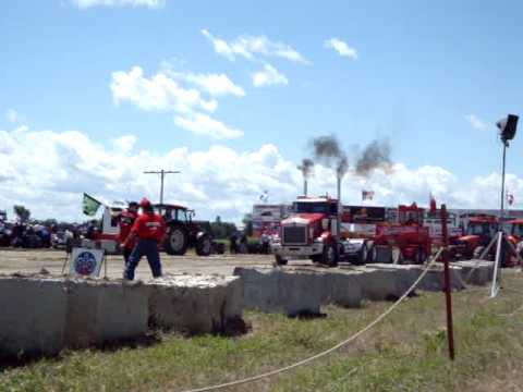 YouTube Tractor Pull Crashes