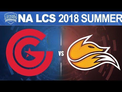 CG vs FOX - NA LCS 2018 Summer Split W9D2 - Clutch Gaming vs Echo Fox
