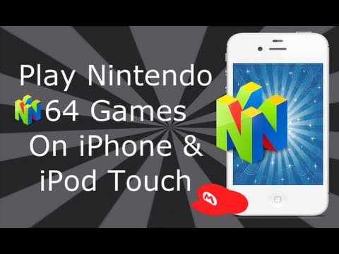 Nintendo 64 Emulator On iPhone 4S, 4, 3GS & iPod Touch ...