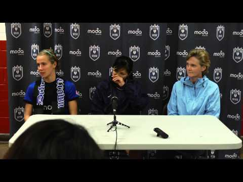 Post-Match Press Conference: Bev Goebel & Nahomi Kawasumi // Reign FC v Chicago Red Stars on 7/20