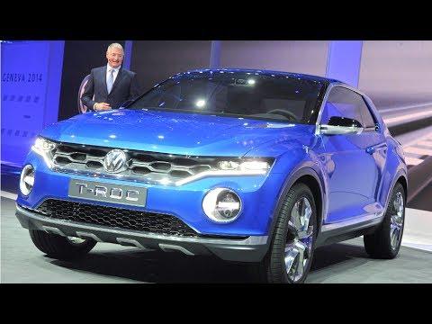 Genf 2014: Mit dem T-ROC stellt VW neue SUV-Baureihe vor