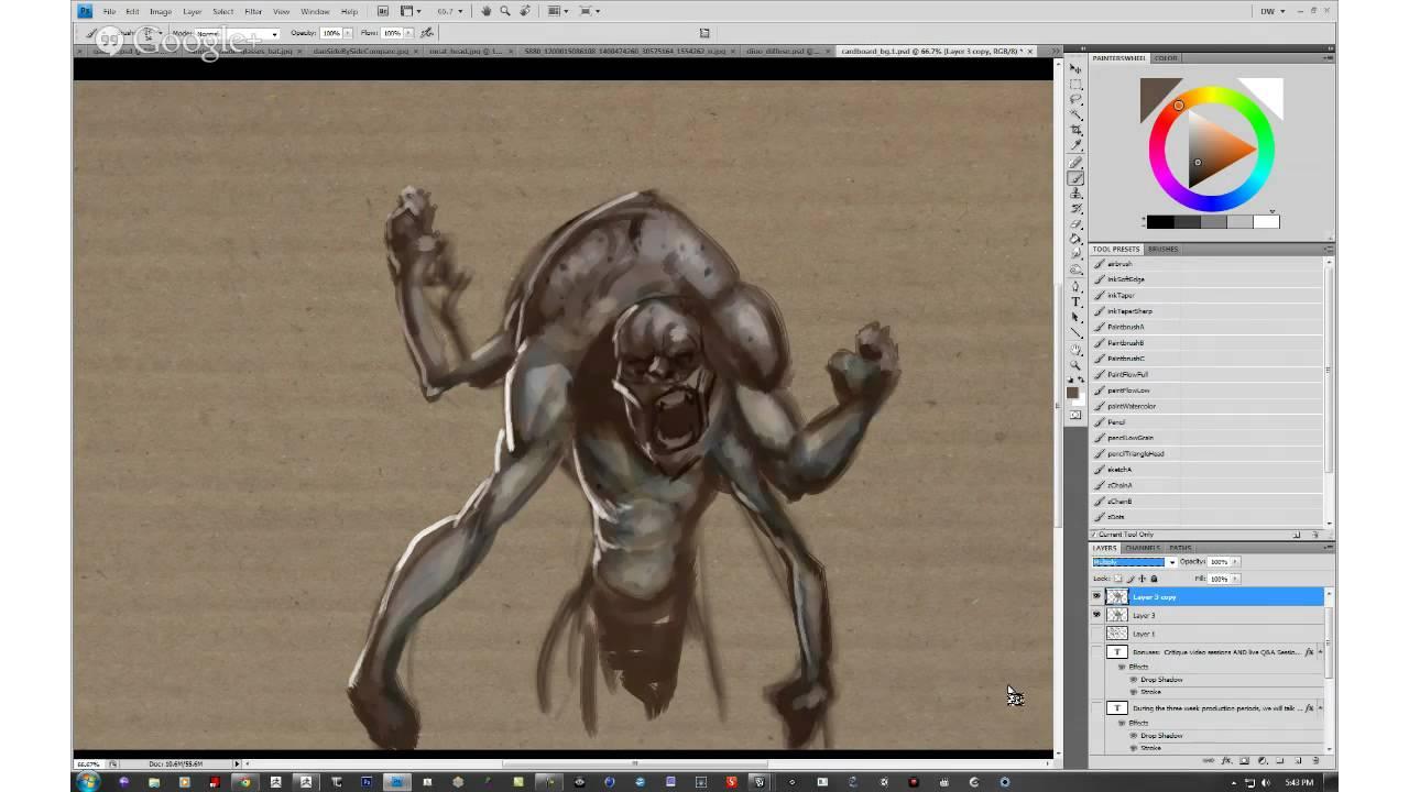 Character Design Zbrush : Danny williams breaks down character design in zbrush