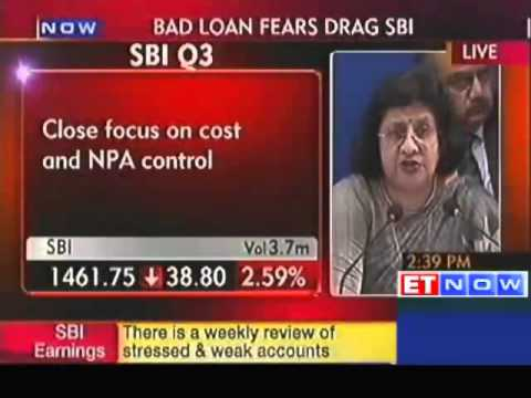 SBI Q3 net profit down 34% to Rs 2234 crore
