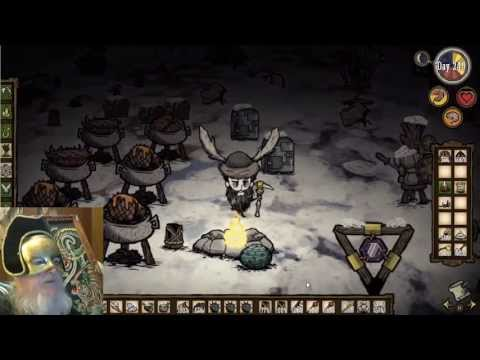 Let's Play Don't Starve 491 Clearing Out Cave Spiders, Bee Mines Not an Option