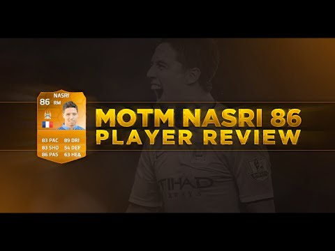 FUT14 | Player Review | Samir Nasri MOTM (MD : 86) ! [FR]
