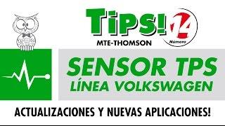 TIPS 14 – Sensores TPS Línea Volkswagen