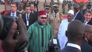 زيارة الملك لغينيا كوناكري