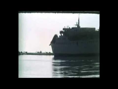 Το Νήσος Χίος Της Ν.Ε Χίου Δένει Στο Λιμάνι Της Μυτιλήνης