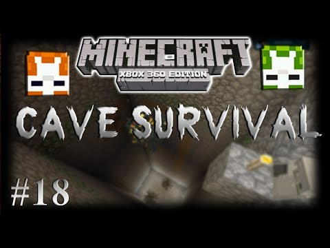 Minecraft Xbox360: Cave Survival Part 18
