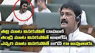 AP Assembly: Ganta Srinivasa Rao funny comments on Rahul G..