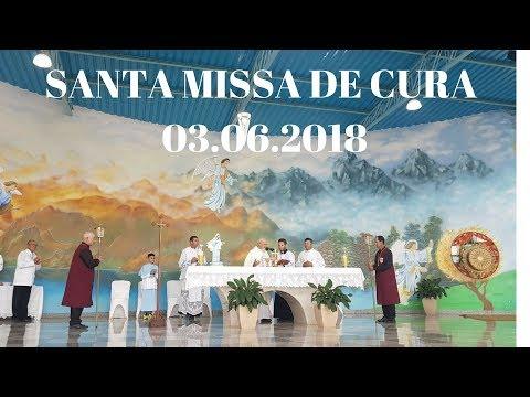 Santa Missa de Cura e Libertação | 03.06.2018 | Padre José Sometti | ANSPAZ