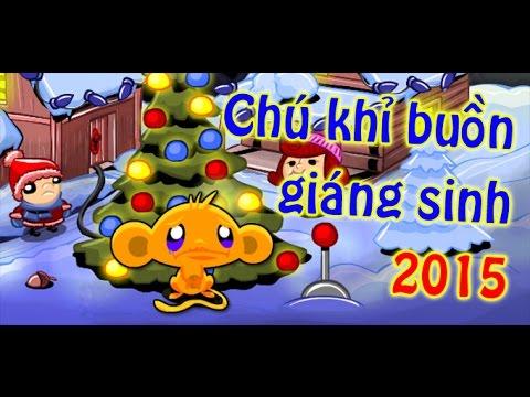 Game chú khỉ buồn giáng sinh 2015 - Video hướng dẫn game 24h