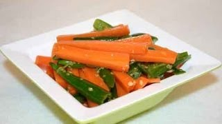 Carrot and Green Chilli Pickle..
