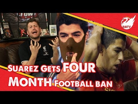 Suarez Banned For 4 Months | Uncensored LFC Fan Reactions