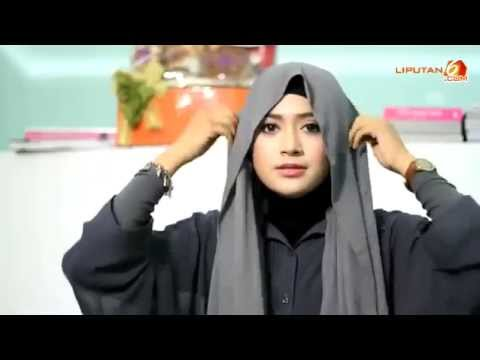 Video Tutorial Hijab Natasha Farani - Cara Memakai Jilbab Pashmina Simple Look Tanpa Jarum