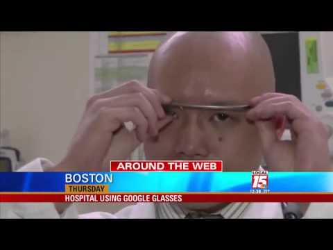 Hospital Using Google Glasses