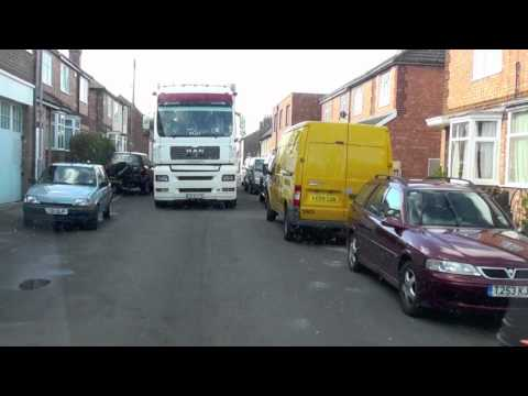Sprinter reverses for MAN Truck