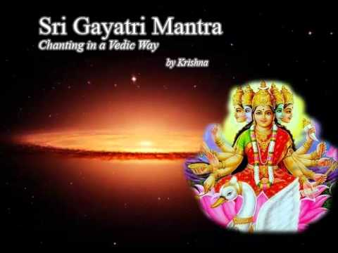 Gayatri Mantra Chanting in Vedic way - Sanskrit ,Tamil & English