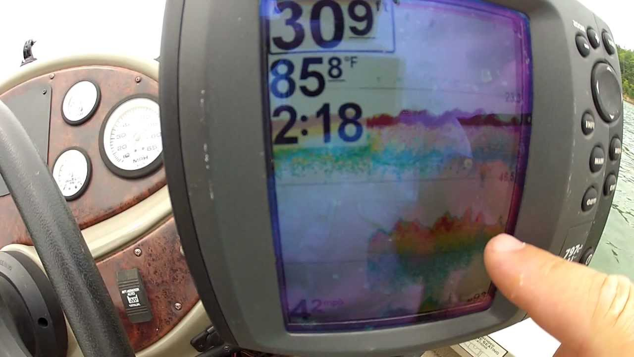 How to read a fish finder finding the thermocline and for How to read fish finder