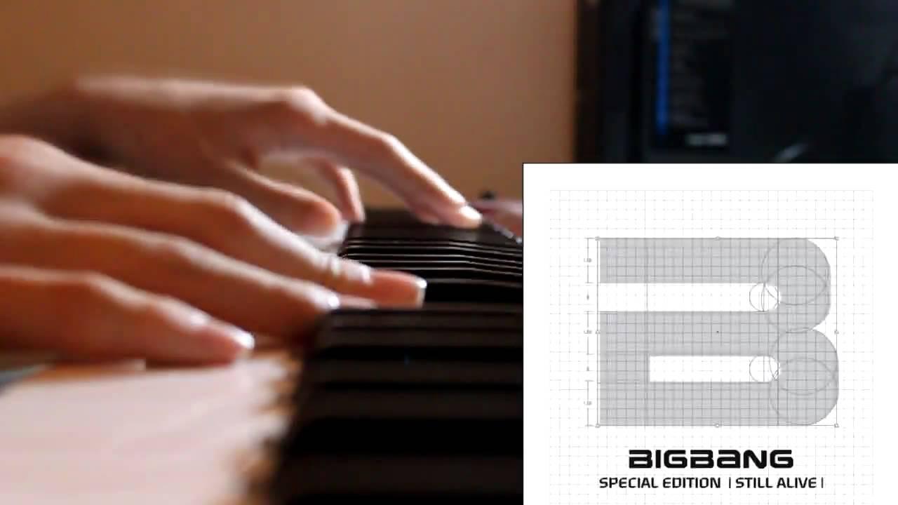 BIGBANG (??) - Still Alive - Piano