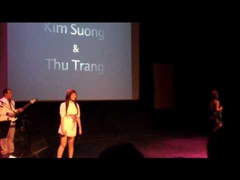 Thu Trang & Kim Suong lien khuc Tinh don phuong& da kh Yeu thi thoi trondhei ve dem