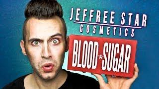 NO BULLSH*T Jeffree Star BLOOD SUGAR Palette Review! | PopLuxe